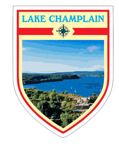 Lake Champlain Sticker Decal R7052