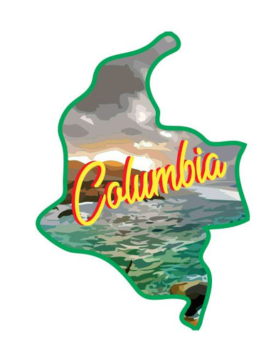 Columbia Sticker Decal R7089
