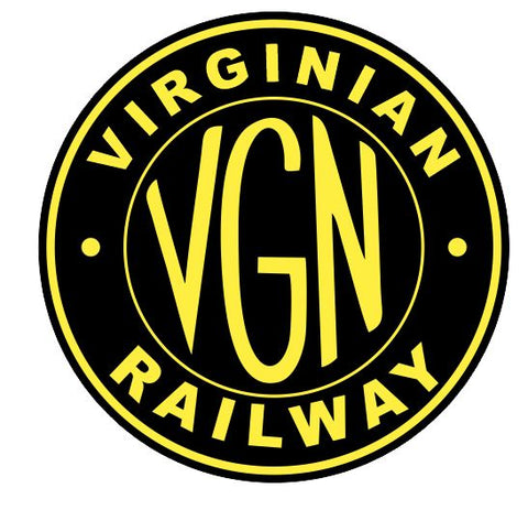 Virginian Railway Sticker R7106 Railroad Railway Train Sign YOU CHOOSE SIZE
