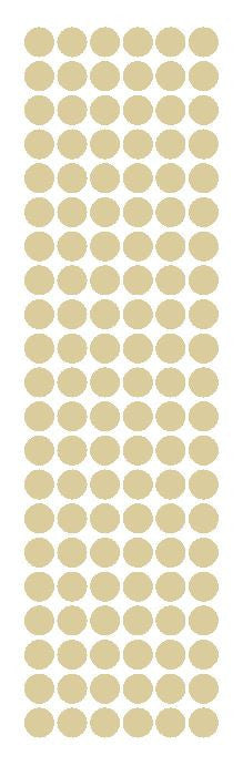 "3/8"" Beige Tan Round Vinyl Color Code Inventory Label Dot Stickers - Winter Park Products"