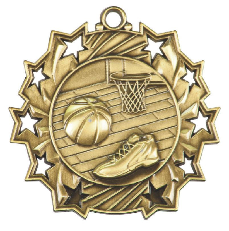 Basketball Medals Award Trophy Team Sports W/Free Lanyard FREE SHIPPING TS402 - Winter Park Products