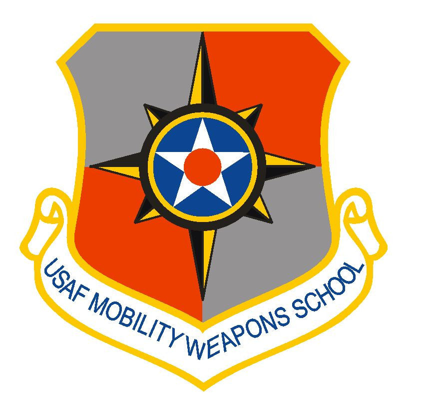 United States Air Force Mobility Weapons School Sticker R449 - Winter Park Products