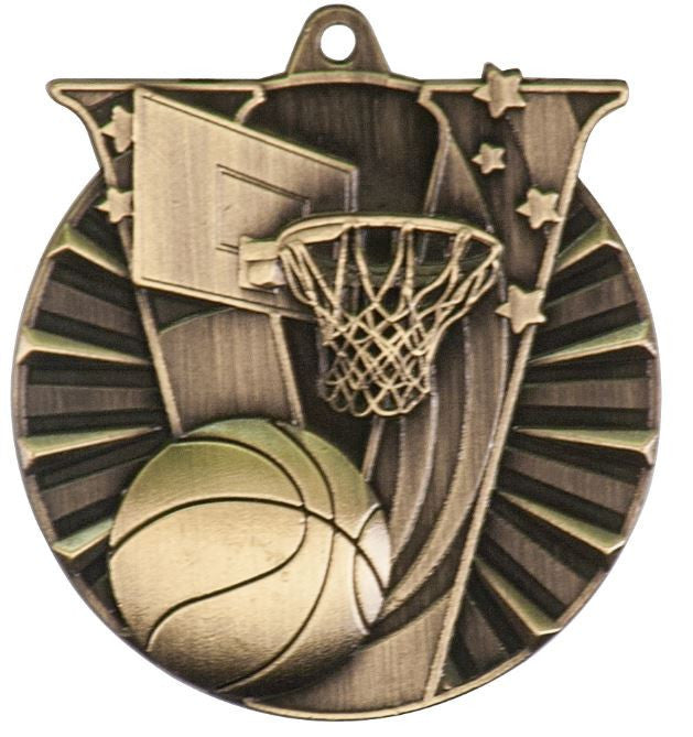 Basketball Medals Team Sport Award Trophy W/FREE Lanyard FREE SHIPPING VM102 - Winter Park Products