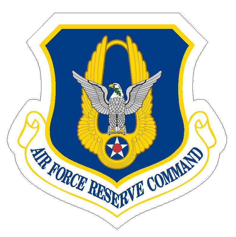 United States Air Force Reserve Command Sticker R384 - Winter Park Products