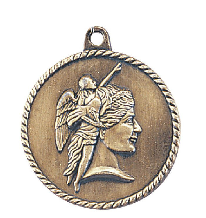 Achievement Medal Award Trophy With Free Lanyard HR700 - Winter Park Products