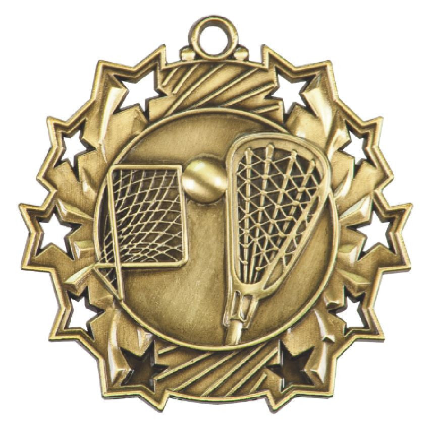 LaCrosse Medals Award Trophy Team Sports W/Free Lanyard FREE SHIPPING TS409 - Winter Park Products