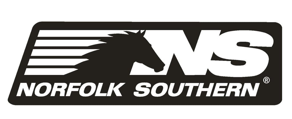 Norfolk Southern Railroad Sticker R585 - Winter Park Products