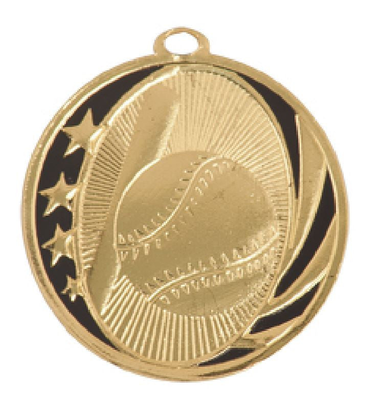 Baseball Medal Award Trophy With Free Lanyard MS701 - Winter Park Products