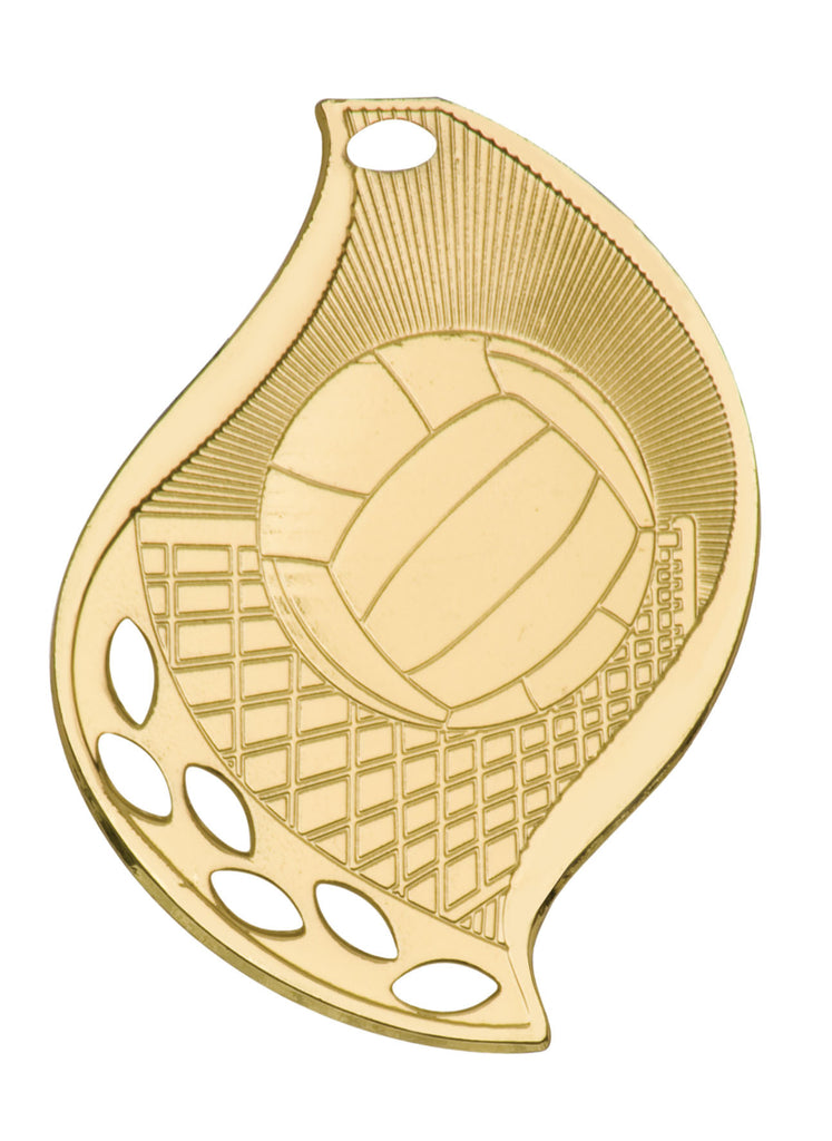 Volleyball Medal Award Trophy With Free Lanyard FM116 - Winter Park Products