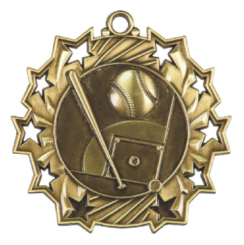 Baseball Medals Award Trophy Team Sports W/FREE Lanyard FREE SHIPPING TS401 - Winter Park Products