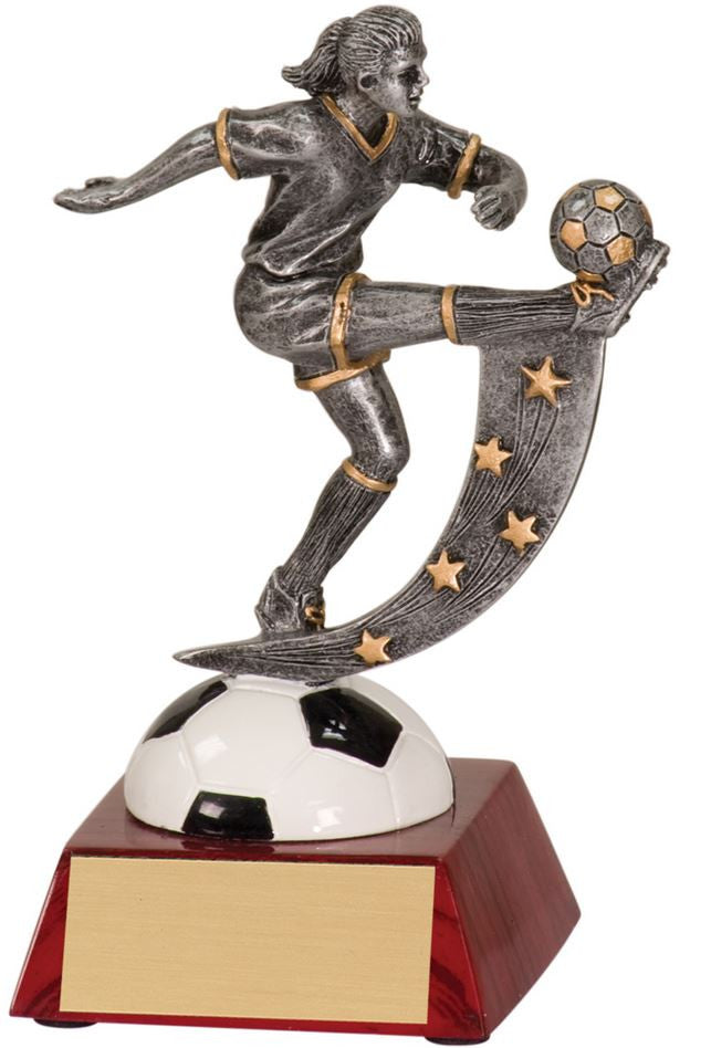WHOLESALE Lot of 12 Female Soccer Trophy Award $8.99 ea.FREE Shipping ASR108 - Winter Park Products