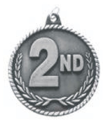 """2nd Place Trophy 7-1//4/"""" Tall  AS LOW AS $3.99 each FREE SHIPPING T02N14"""