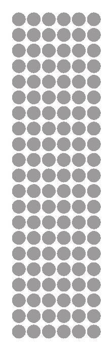 "3//8/"" Dark Grey Gray Round Vinyl Color Code Inventory Label Dot Stickers"