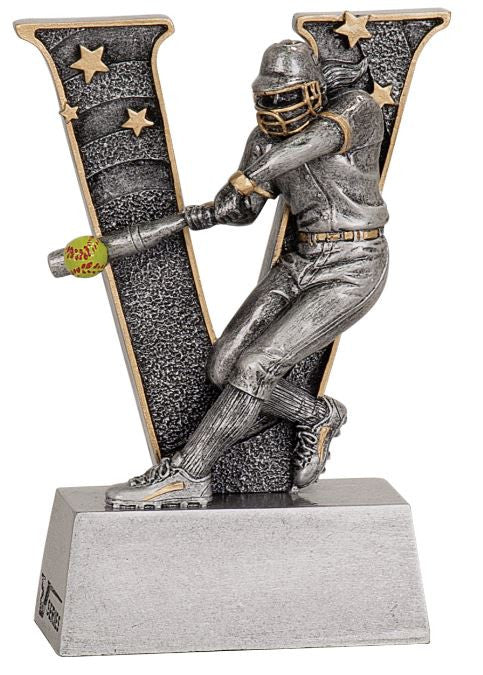 WHOLESALE Lot of 12 Female Softball Trophy Award $5.99 ea. FREE Shipping V712 - Winter Park Products