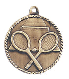 Tennis Medal Award Trophy With Free Lanyard HR755 - Winter Park Products