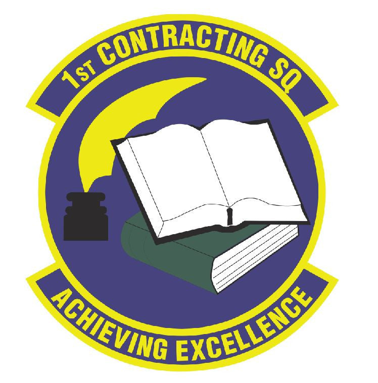 1st Contracting Squadron Sticker R468 - Winter Park Products