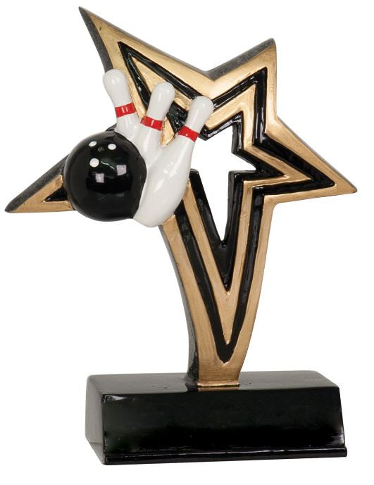 WHOLESALE Lot of 12 Bowling Trophy Award $5.99 ea. FREE Shipping NFR103 - Winter Park Products