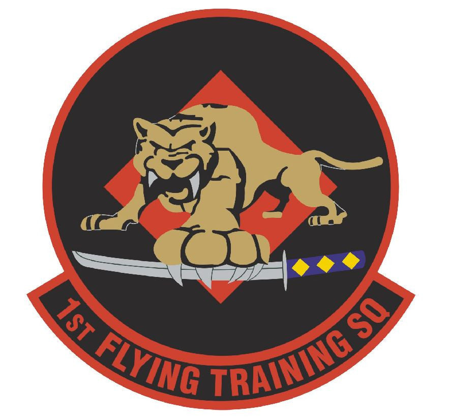 1st Flying Training Squadron Sticker R469 - Winter Park Products