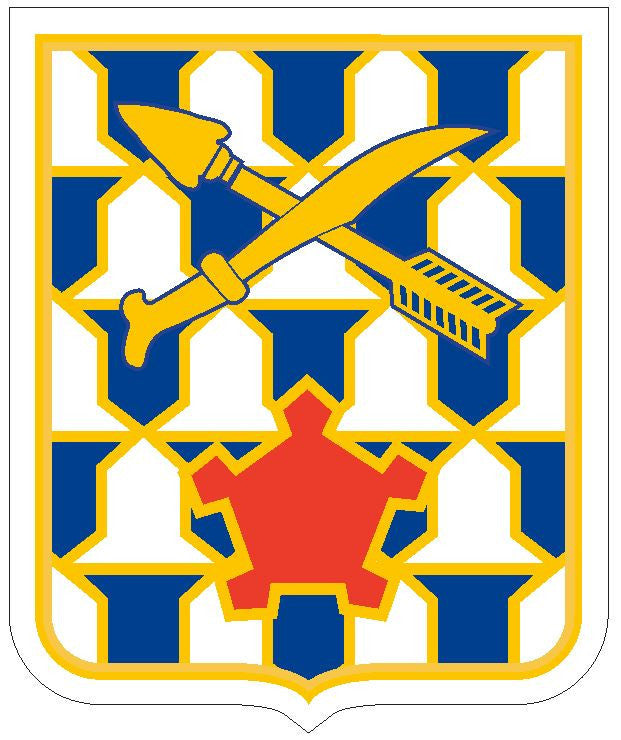 16th Infantry Sticker R440 - Winter Park Products