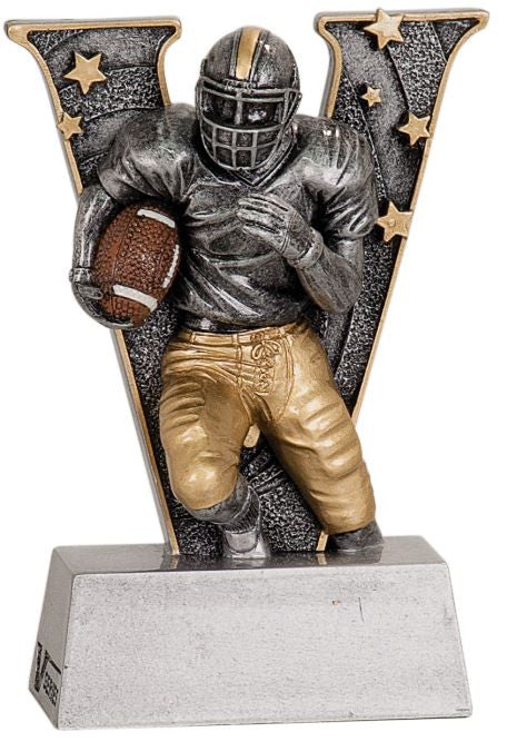 WHOLESALE Lot of 12 Football Trophy Award $5.99 ea. FREE Shipping V705 - Winter Park Products