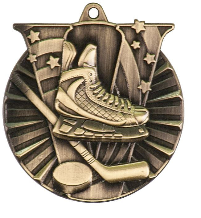 Hockey Medals Team Sport Award Trophy W/FREE Lanyard FREE SHIPPING VM106 - Winter Park Products