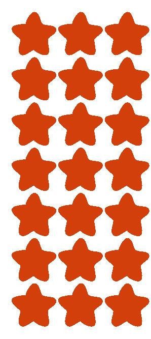 "1-1/4"" Red Star Stickers Wedding Envelope Seals School Arts & Crafts - Winter Park Products"