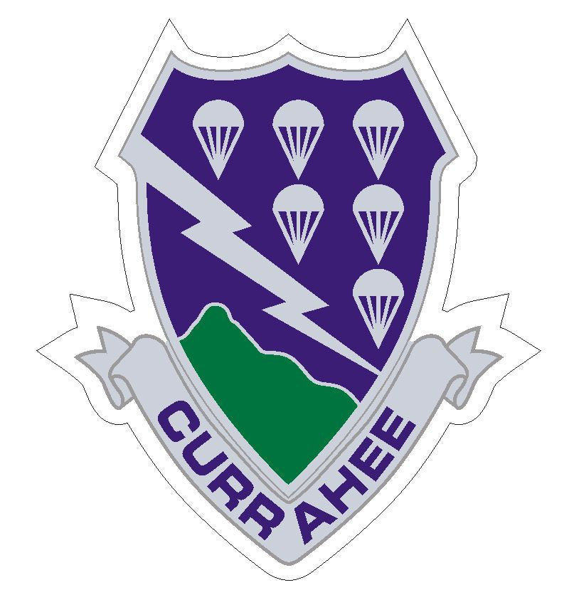 506th Airborne Sticker R432 - Winter Park Products