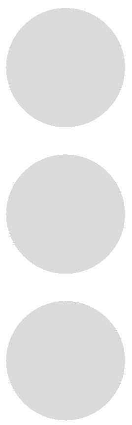 "3"" Lt Gray Grey Round Color Code Inventory Label Dots Stickers - Winter Park Products"