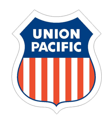 Union Pacific Railway Railroad Sticker R19 - Winter Park Products