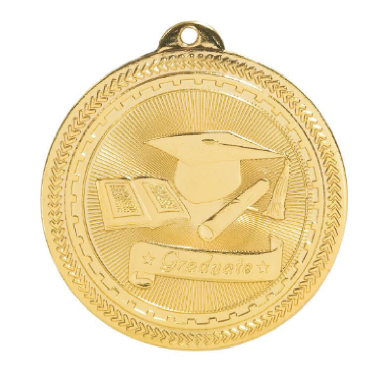 Graduate Medals Award Trophy Team Sports W/FREE Lanyard FREE SHIPPING BL307 - Winter Park Products