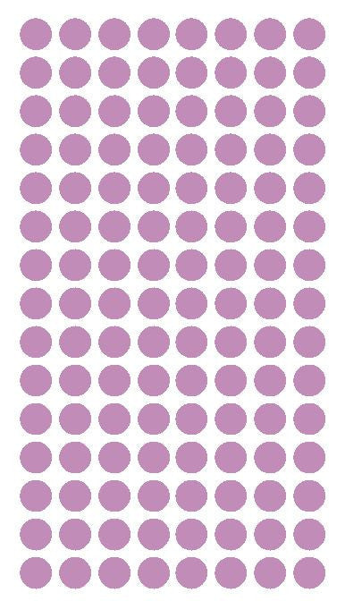 "1/4"" LILAC Round Color Coding Inventory Label Dots Stickers - Winter Park Products"