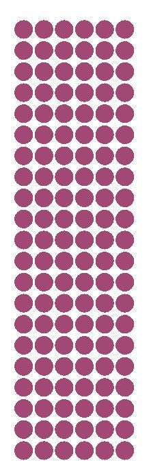 "3/8"" Plum Round Vinyl Color Code Inventory Label Dot Stickers - Winter Park Products"