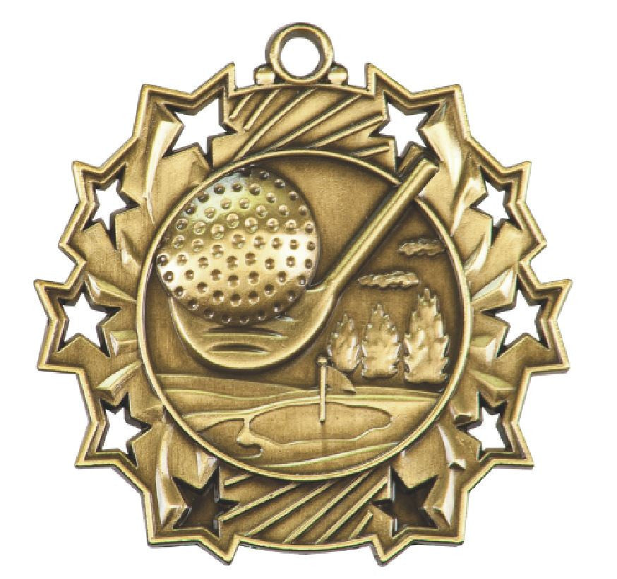 Golf Medals Award Trophy Team Sports W/Free Lanyard FREE SHIPPING TS406 - Winter Park Products