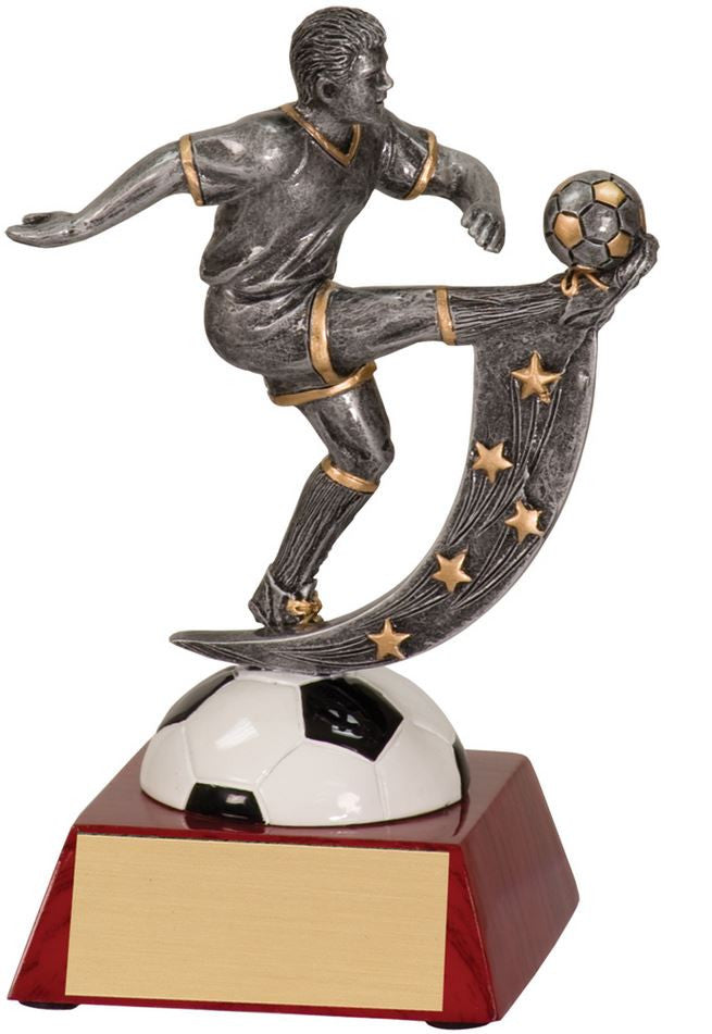 WHOLESALE Lot of 12 Male Soccer Trophy Award $8.99 ea.FREE Shipping ASR107 - Winter Park Products