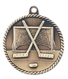 Hockey Medal Award Trophy With Free Lanyard HR730 - Winter Park Products