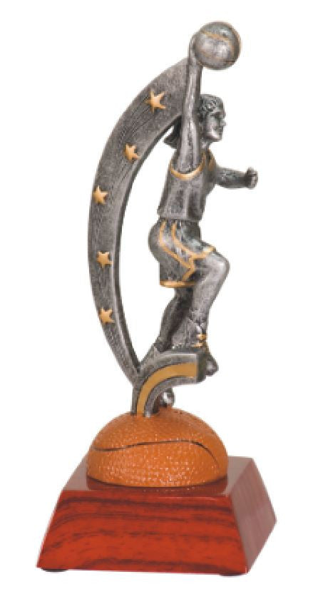 WHOLESALE Lot of 12 Female Basketball Trophy Award $8.99 ea.FREE Shipping ASR104 - Winter Park Products