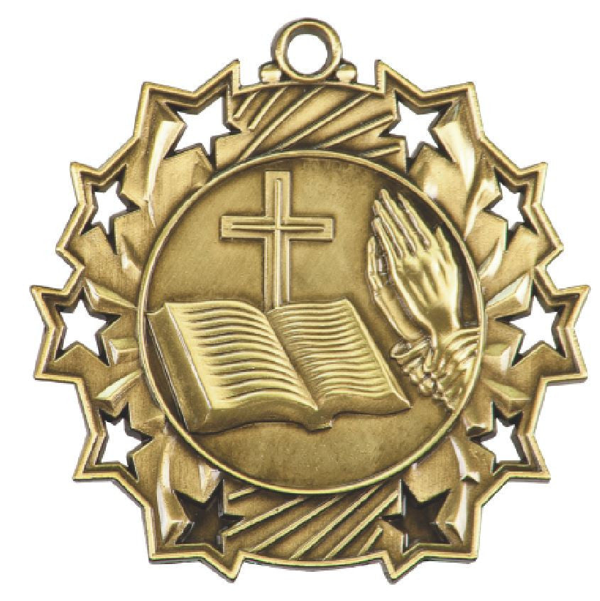 Church Religious Medals Award Trophy W/Free Lanyard FREE SHIPPING TS514 - Winter Park Products