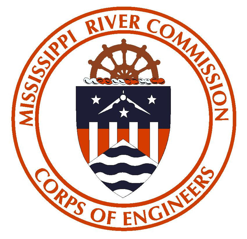 Mississippi River Commission Sticker R394 - Winter Park Products
