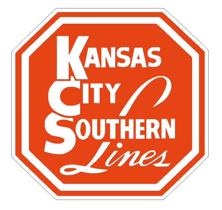 Kansas City Southern Lines Railway Railroad Sticker R170 - Winter Park Products