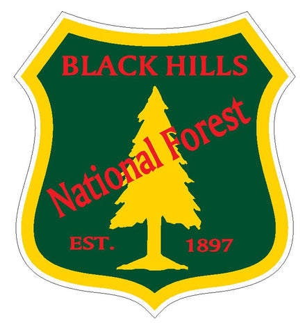 Black Hills National Forest Sticker R3205