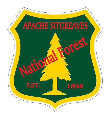 Apache Sitgreaves National Forest Sticker R3197