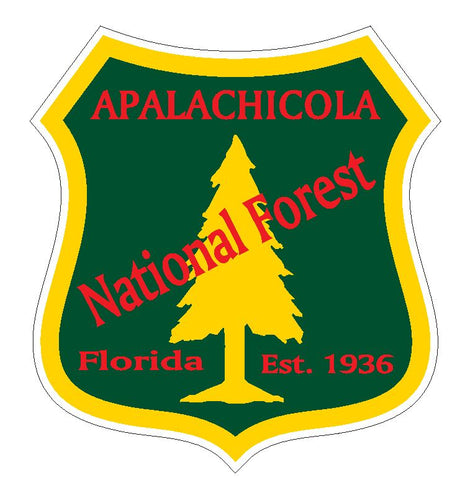 Apalachicola National Forest Sticker R3198 Florida