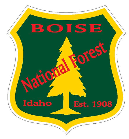 Boise National Forest Sticker R3206 Idaho