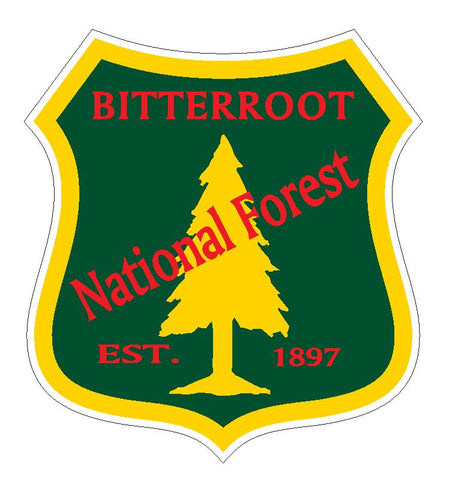 Bitterroot National Forest Sticker R3204