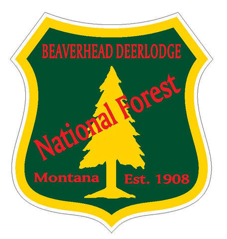 Beaverhead Deerlodge National Forest Sticker R3201 Montana