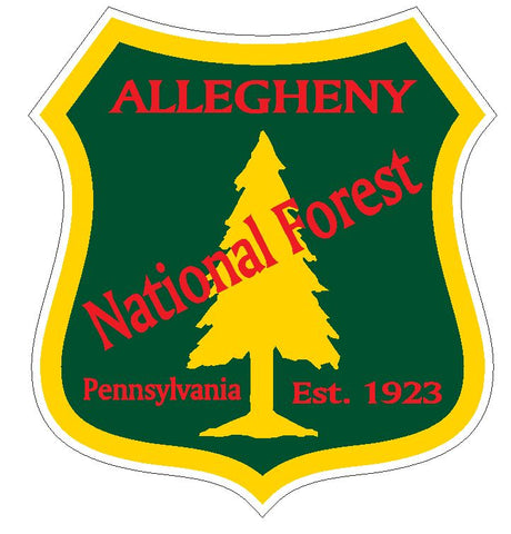 Allegheny National Forest Sticker R3194 Pennsylvania