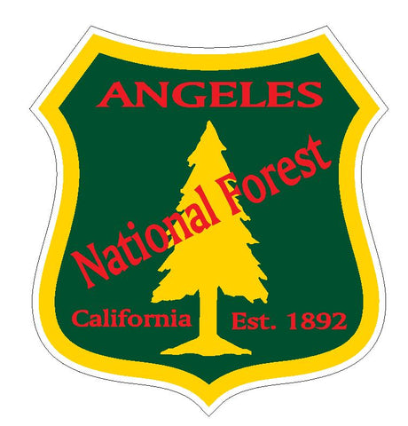 Angeles National Forest Sticker R3195 California