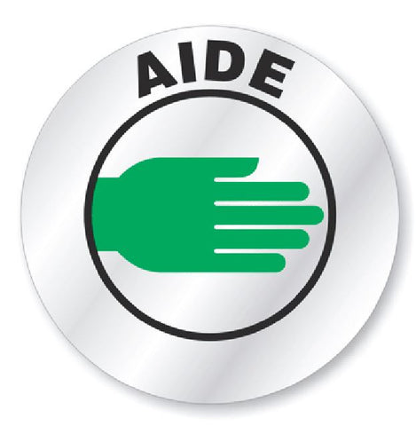 Aide Hard Hat Decal Hardhat Sticker Helmet Label H196 - Winter Park Products