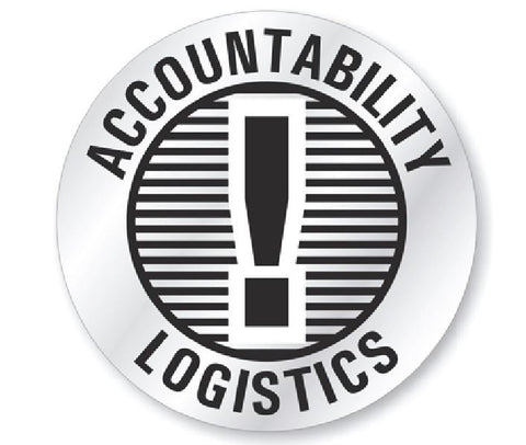 Accountability Logistics Hard Hat Decal Hardhat Sticker Helmet Label H197 - Winter Park Products