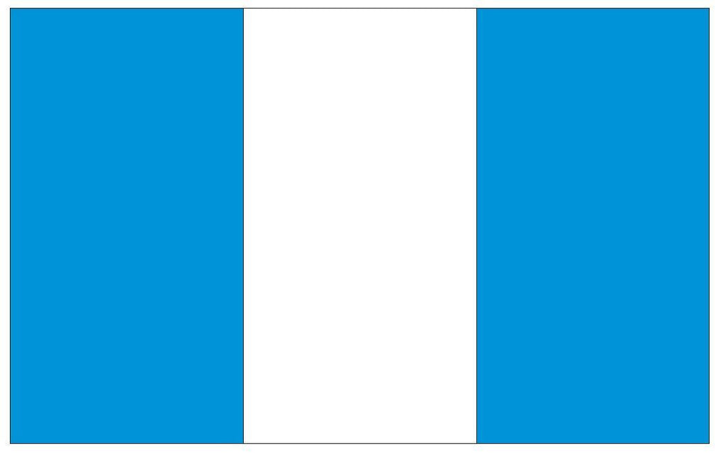 GUATEMALA Vinyl International Flag DECAL Sticker MADE IN THE USA F199 - Winter Park Products